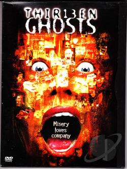 Thirteen Ghosts DVD Cover Art