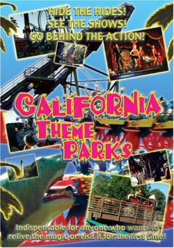 California Theme Parks DVD Cover Art