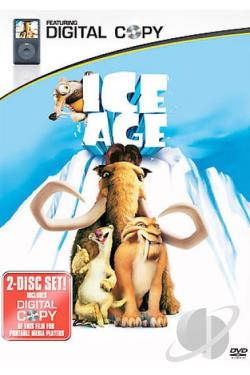Ice Age DVD Cover Art