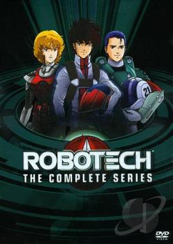 Robotech - The Complete Series DVD Cover Art