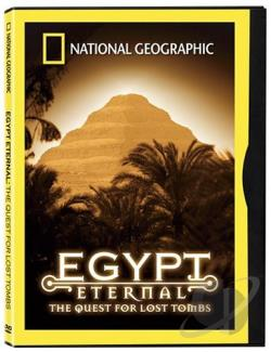National Geographic - Egypt Eternal DVD Cover Art