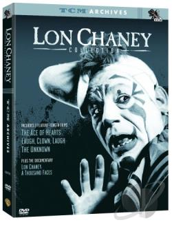 TCM Archives - The Lon Chaney Collection DVD Cover Art
