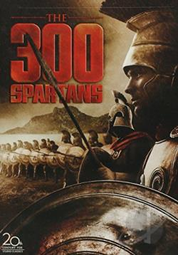 300 Spartans DVD Cover Art