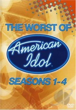 American Idol - The Worst Of American Idol Seasons 1-4 DVD Cover Art