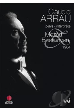 Claudio Arrau Plays Mozart & Beethoven DVD Cover Art