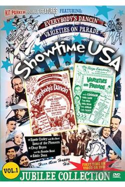 Showtime USA - Vol. 1: Everybody's Dancin'/ Varieties on Parade DVD Cover Art