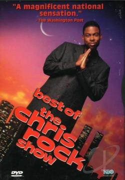 Best Of The Chris Rock Show DVD Cover Art