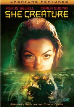 She Creature DVD Cover Art