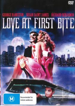Love at First Bite DVD Cover Art