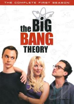 Big Bang Theory - The Complete First Season DVD Cover Art