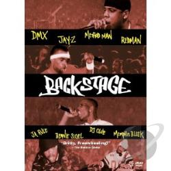 Backstage DVD Cover Art