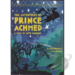 Adventures of Prince Achmed DVD Cover Art