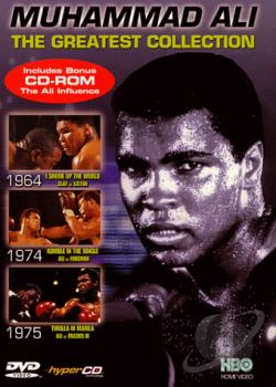 Muhammad Ali: The Greatest Collection DVD Cover Art