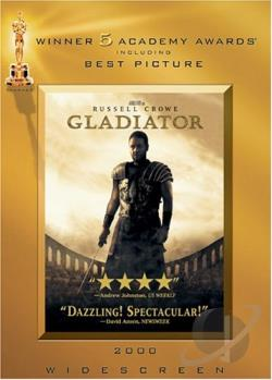 Gladiator DVD Cover Art