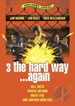 3 the Hard Way......Again 4 Film Pack DVD Cover Art