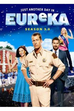Eureka - The Complete Third Season DVD Cover Art