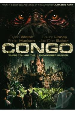 Congo DVD Cover Art