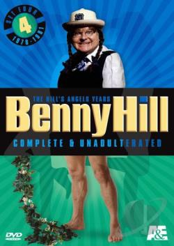 Benny Hill - Complete & Unadulterated: Set 4, Vol. 1 DVD Cover Art