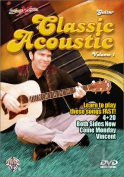 Song Xpress - Classic Acoustic Guitar Vol. 1 DVD Cover Art