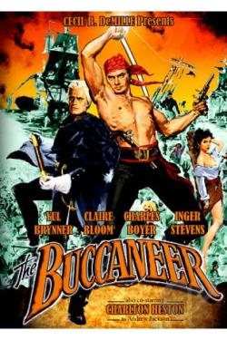 Buccaneer DVD Cover Art