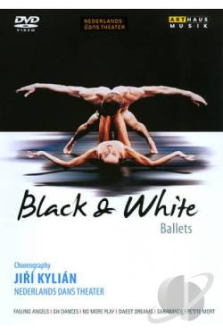Jiri Kylian's Black & White Ballets DVD Cover Art