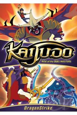 Kaijudo: Rise of the Duel Masters - Dragonstrike DVD Cover Art
