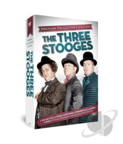 Three Stooges DVD Cover Art