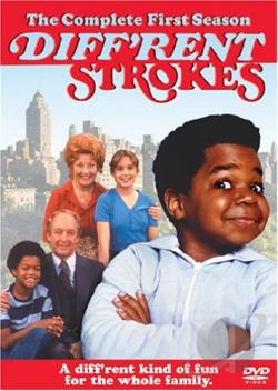 Different Strokes - The Complete First Season DVD Cover Art