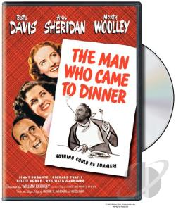 Man Who Came to Dinner DVD Cover Art