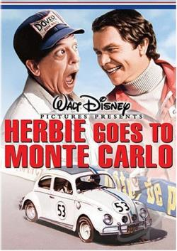 Herbie Goes to Monte Carlo DVD Cover Art