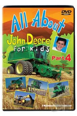 All About John Deere For Kids Part 4 DVD Cover Art