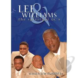 Lee Williams: So Much to Be Thankful For DVD Cover Art