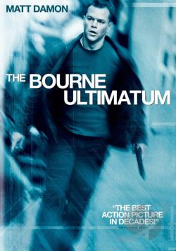 Bourne Ultimatum DVD Cover Art