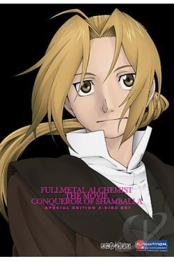 Fullmetal Alchemist: The Movie - Conqueror of Shamballa DVD Movie