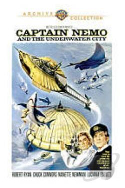 Captain Nemo and the Underwater City DVD Cover Art