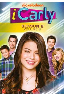 iCarly - The Second Season: Vol. 3 DVD Cover Art