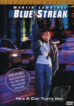 Blue Streak DVD Cover Art