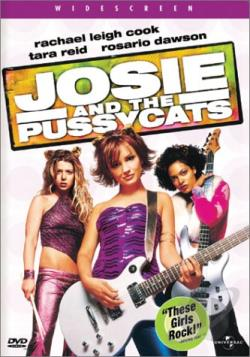 Josie and the Pussycats DVD Cover Art