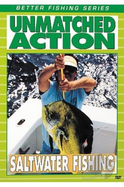 Saltwater Fishing - Unmatched Action DVD Cover Art