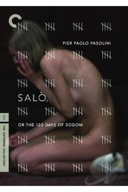 Salo, Or The 120 Days of Sodom DVD Cover Art