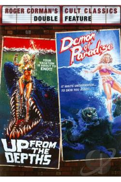 Roger Corman's Cult Classics: Up from the Depths/Demon of Paradise DVD Cover Art