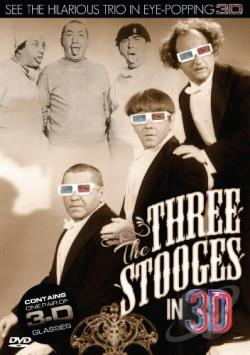 Three Stooges in 3D DVD Cover Art