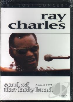 Ray Charles: Soul Of The Holy Land, August 1973 DVD Cover Art