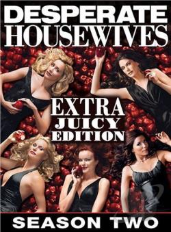 Desperate Housewives - The Complete Second Season: The Extra Juicy Edition DVD Cover Art