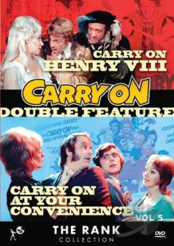 Rank Collection: Carry On Double Feature - Carry On Henry VIII/Carry On At Your Convenience DVD Cover Art