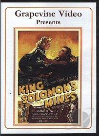 King Solomon's Mines DVD Cover Art