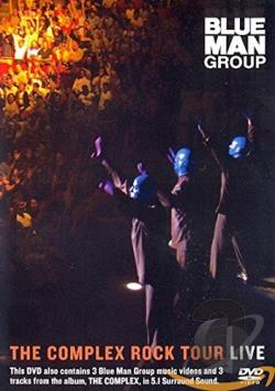 Blue Man Group - The Complex Rock Tour Live DVD Cover Art