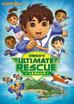 go diego go diegos ultimate rescue league dvd movie