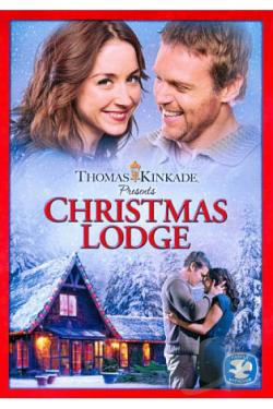 Thomas Kinkade Presents: Christmas Lodge DVD Cover Art