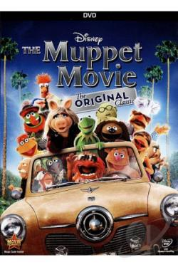 Muppet Movie DVD Cover Art